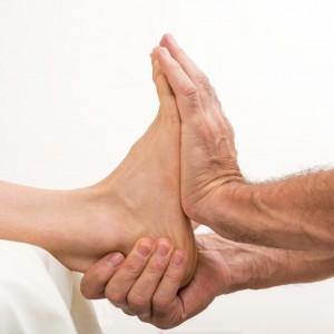Faszientherapie Rolfing Fuß Sprunggelenk